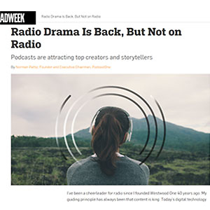 Radio Drama is Back, But Not on Radio