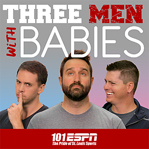Three Men with Babies