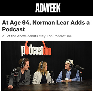 At Age 94, Norman Lear Adds a Podcast